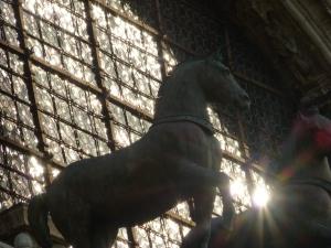 Pferd vor San Marco